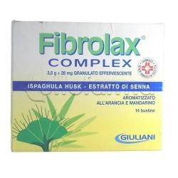Fibrolax Complex Granulato Effervescente 14 Bustine contro Stitichezza