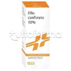 Canfora Sella 10 % Soluzione Oleosa 100 gr