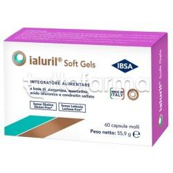 Ialuril Soft Gels Integratore per Apparato Urinario 60 Capsule