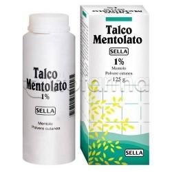 Mentolo Sella Talco Mentolato 1% Flacone 100 gr