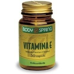 Body Spring Integratore Vitamina E 50 Capsule