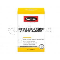 Swisse Difesa Delle Prime Vie Respiratorie Integratore per il Tratto Respiratorio 30 Compresse