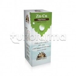 Erbenobili Oligoceleste Zinco/Rame Integratore Antiossidante 50ml