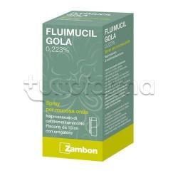 Fluimucil Gola Spray per Mal di Gola 15 ml