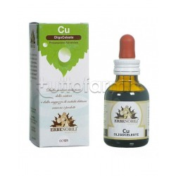 Erbenobili Oligoceleste Rame Integratore Antiossidante 50ml