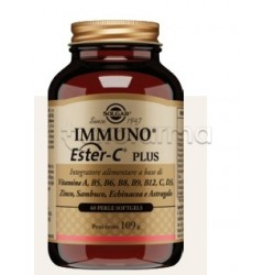 Solgar Immuno Ester-C Plus Integratore per Difese Immunitarie 60 Perle