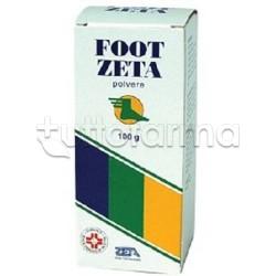 Foot Zeta Polvere Cutanea Disinfettante Flacone 100 Gr