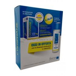 Cystiphane Integratore per Capelli e Unghie 120 Compresse + Shampoo Anticaduta Omaggio 100ml