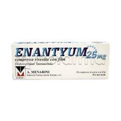 Enantyum 20 Compresse Rivestite 25 mg Antinfiammatorio ed Antidolorifico