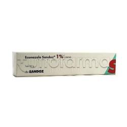 Econazolo Sandoz Crema Antimicotica per Funghi 30 Grammi 1%