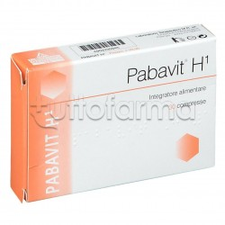 Pabavit H1 Integratore per Macchie della Pelle 30 Compresse