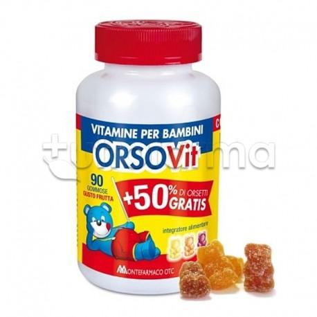 Orsovit Caramelle Gommose con Vitamina C 60 Orsacchiotti + 30 Omaggio