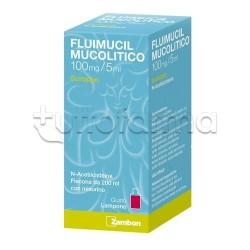 Fluimucil Mucolitico Sciroppo Flacone 200 ml per Tosse e Catarro