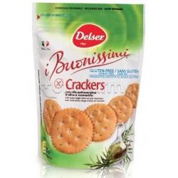 Delser I Buonissimi Cracker Con Olio Extravergine d'Oliva e Rosmarino Senza Glutine 125g