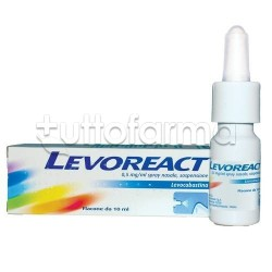 Levoreact Spray Nasale 10 ml 0,5 mg per Riniti Allergiche