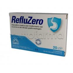 Reflu Zero per Bruciore e Reflusso Gastrico 20 Compresse Orosolubili