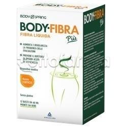 Angelini Body Spring Body Fibra Integratore Intestinale Gusto Esotico 12 Bustine