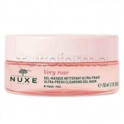 Nuxe Very Rose Gel Maschera Viso Detergente Ultra Fresca 150ml
