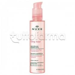 Nuxe Very Rose Olio Delicato Struccante Viso 150ml