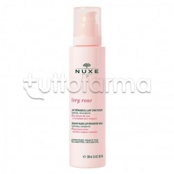 Nuxe Very Rose Latte Struccante Vellutato Viso 200ml