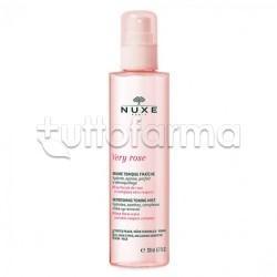 Nuxe Very Rose Tonico Spray Fresco Viso 200ml
