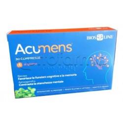 Bios Line Acumens Integratore per Memoria e Concentrazione 30 Compresse