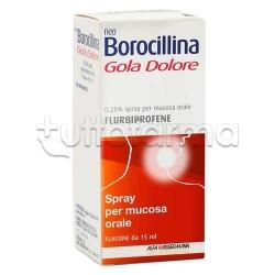 Neoborocillina Gola Dolore Spray 15 ml per Mal di Gola