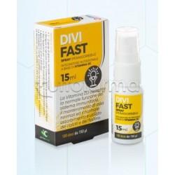 Cemon Divifast Spray Integratore con Vitamina D3 15ml
