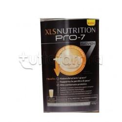 XLS Nutrition Pro 7 Sostituto Pasto Shake Bruciagrassi Gusto Vaniglia e Agrumi 400g