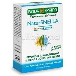 Body Spring NaturSnella Brucia e Drena 14 Bustine