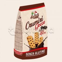 Inglese Crumiri Gocce con Cioccolato Biscotti Senza Glutine 300g