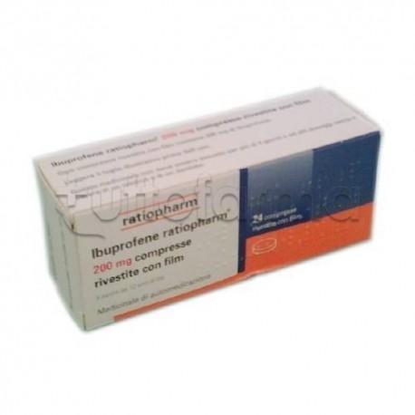Ibuprofene Ratiopharm 24 Compresse 200 Mg (Equivalente Moment)