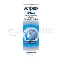 Actigrip Spray Nasale Flacone 10 ml Decongestionante