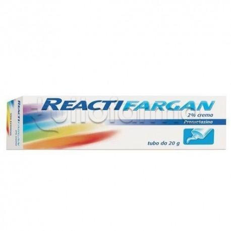 Reactifargan Crema 20 gr 2% Antistaminica per Prurito e Punture di Insetto