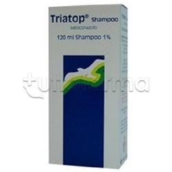 Triatop Shampoo contro Forfora e Prurito dei Capelli 120 ml 1%