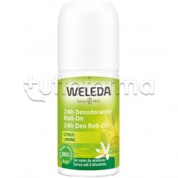 Weleda Deodorante Roll-On 24 Ore al Limone 50ml