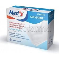 Meds Farmatnt Garze Sterili per la Medicazione 25 Pezzi
