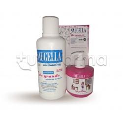 Saugella Da Grande Intimità Insieme Detergente 500ml + 150ml Girl in Omaggio