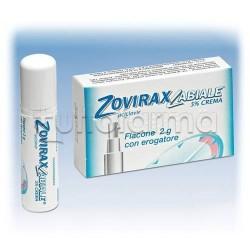 Zoviraxlabiale Crema Con Erogatore 2 grammi 5% Aciclovir per Herpes Labiale