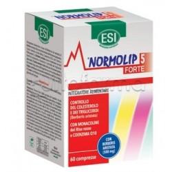 Esi Normolip 5 Forte Integratore per Colesterolo e Trigliceridi 60 Compresse