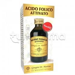 Dr Giorgini Acido Folico Attivato Liquido Integratore per Sistema Immunitario 100ml
