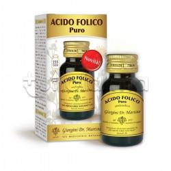 Dr Giorgini Acido Folico Puro Liquido Integratore per Sistema Immunitario 30ml