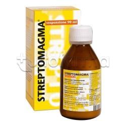 Streptomagma Sospensione Orale Flacone 90 ml contro Diarrea nei Bambini