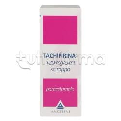 Tachipirina Sciroppo 120 ml 120mg/5 per Bambini di Tutte le Età e Adulti per Febbre e Dolore
