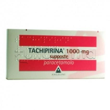 Tachipirina Adulti 10 Supposte 1000 mg per Febbre e Dolore