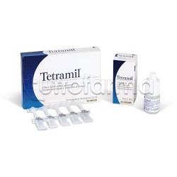 Tetramil Collirio Monodose 10 Flaconcini 0,5 ml per Occhi Arrossati Infiammati e Congiuntiviti Allergiche