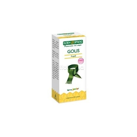 Body Spring Golis Spray Propoli Junior 25 ml