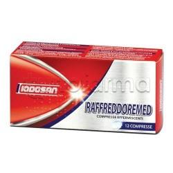Raffreddoremed 12 Compresse Effervescenti per Ridurre Sintomi Raffreddore e Influenza