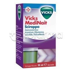 Vicks Medinait Sciroppo 90 ml per Raffreddore e Influenza