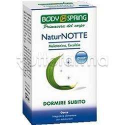 Body Spring NaturNotte Gocce Dormire Subito Flacone 50 ml